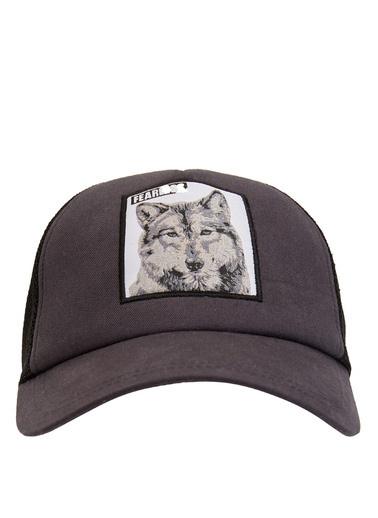 DeFacto Baseball Şapka Antrasit